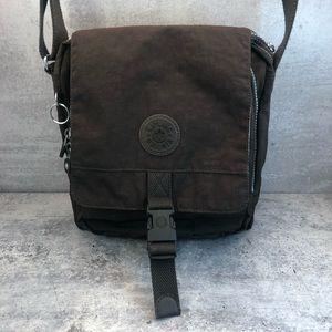 Kipling Lancelot Style Brown Shoulder Bag